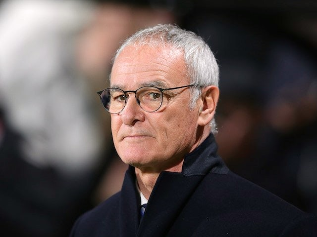 Claudio Ranieri watches on during the Premier League game between Bournemouth and Leicester City on December 13, 2016