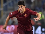 Diego Perotti in action during the Serie A game between Roma and Milan on December 12, 2016