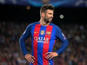 Team News: Pique back for Barcelona