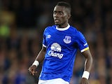 Idrissa Gueye in action for Everton on September 30, 2016
