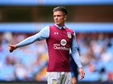 Jack Grealish in action for Aston Villa on July 30, 2016