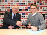 Jake Hesketh agrees a new Southampton deal on December 15, 2016