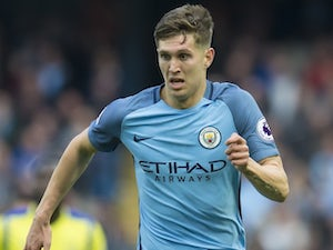 John Stones in action for Manchester City on October 15, 2016