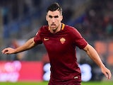 Kevin Strootman in action during the Serie A game between Roma and Milan on December 12, 2016