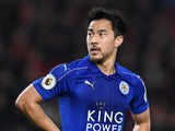 Shinji Okazaki in action during the Premier League game between Bournemouth and Leicester City on December 13, 2016