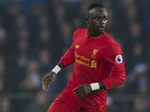 Sadio Mane in action during the Premier League game between Everton and Liverpool on December 19, 2016