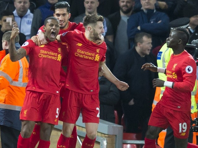 Result: Wijnaldum fires Liverpool past Man City
