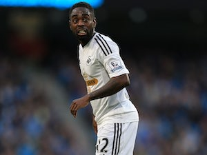 Nathan Dyer in action for Swansea City on November 22, 2014