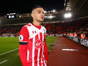 Sofiane Boufal in action for Southampton on October 26, 2016