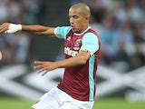 Sofiane Feghouli in action for West Ham United on August 4, 2016