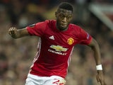 Timothy Fosu-Mensah in action for Manchester United on September 29, 2016