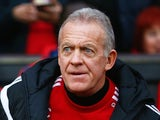 Alan Curtis prior to the game between Manchester United and Swansea on January 2, 2016