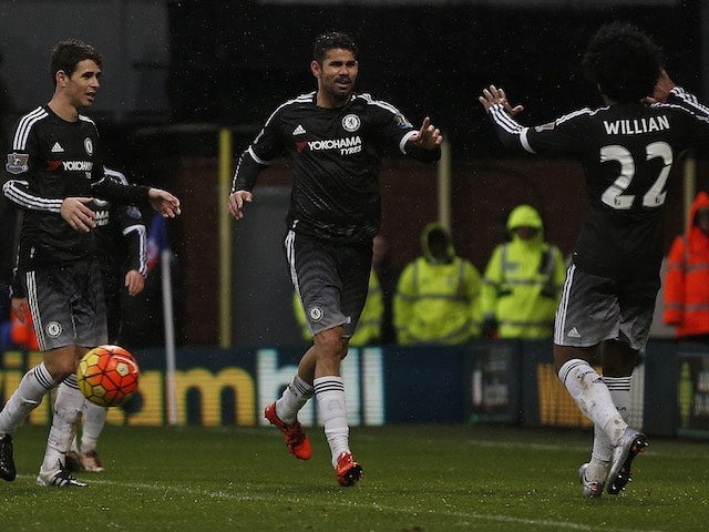 Result: Hiddink picks up first Chelsea win