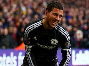 Eden Hazard still out for Chelsea