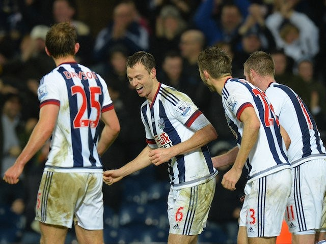 Result: West Brom into sixth after win over Watford
