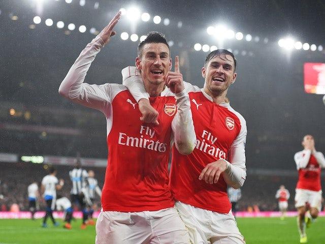 Result: Koscielny header gives Arsenal win over Newcastle