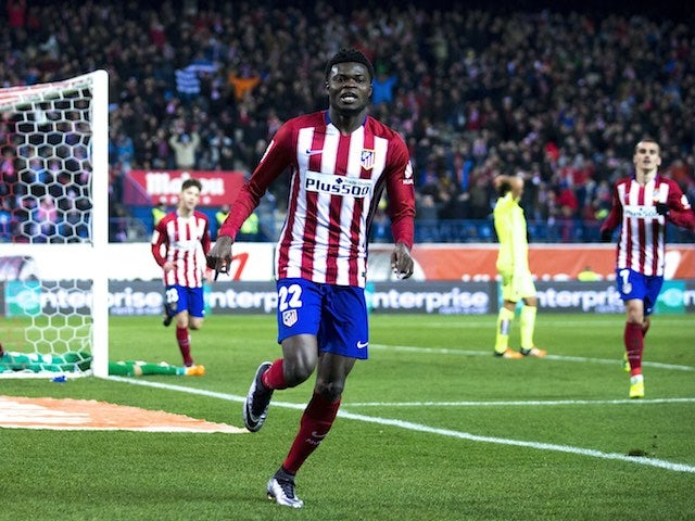 Thomas Partey Scores Again For Atletico Madrid
