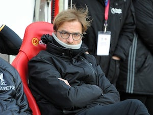 Klopp unhappy with reaction of Liverpool players
