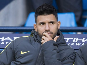 Team News: Sergio Aguero on bench for Man City
