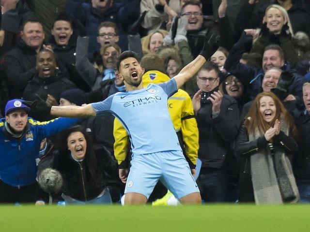 Result: Ten-man Man City edge out Burnley