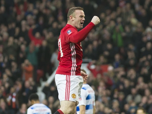 Result: Rooney equals Charlton record in FA Cup rout