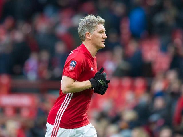 Result: Schweinsteiger scores in Man Utd rout