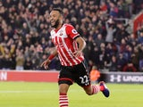 Nathan Redmond celebrates scoring during the EFL Cup semi-final between Southampton and Liverpool on January 11, 2017