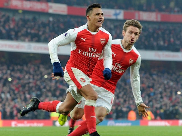 Result: Sanchez double gives Arsenal hard-fought win