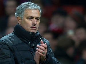 Manchester United manager Jose Mourinho watches on during the Premier League clash with Liverpool at Old Trafford on January 15, 2017