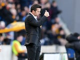 Hull City manager Marco Silva watches on during the Premier League clash with Bournemouth at the KCOM Stadium on January 14, 2017
