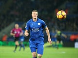 Leicester City defender Robert Huth in action during the Premier League clash with Chelsea at the King Power Stadium on January 14, 2017