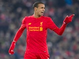 Joel Matip in action during the EFL Cup semi-final between Liverpool and Southampton on January 25, 2017