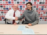 Manolo Gabbiadini signs for Southampton on January 31, 2016