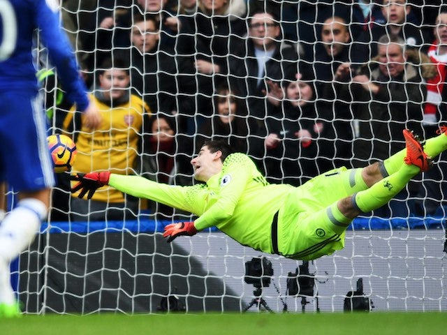 Real Madrid 'cool Courtois interest'