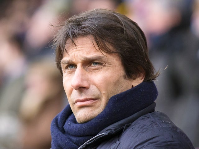 Chelsea manager Antonio Conte on the sidelines in the match against Burnley on February 12, 2017