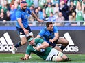 CJ Stander in action during the Six Nations match between Italy and Ireland on February 11, 2017