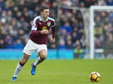 Burnley's Matthew Lowton in action against Chelsea on February 12, 2017