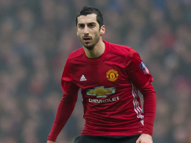Man Utd midfielder Mkhitaryan: I need to improve to become Jose regular