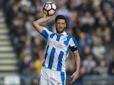Huddersfield Town's Mark Hudson during the FA Cup match against Manchester City on February 18, 2017
