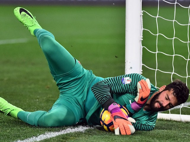 Liverpool table cash offer for Roma goalkeeper Alisson