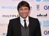 Antonio Conte at the London Football Awards on March 2, 2017