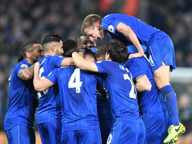 Result: Vardy brace breathes new life into Leicester