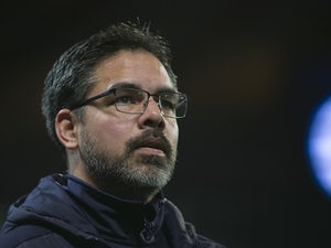 Terriers boss David Wagner watches on during the FA Cup replay between Manchester City and Huddersfield Town on March 1, 2017