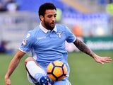 Felipe Anderson in action during the Serie A game between Lazio and Udinese on February 26, 2017