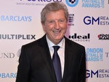 Roy Hodgson at the London Football Awards on March 2, 2017