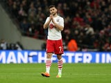 Southampton forward Shane Long in action during his side's EFL Cup final with Manchester United at Wembley on February 26, 2017