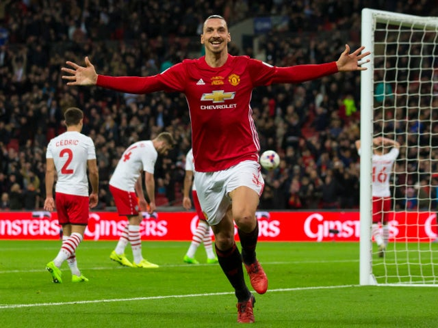 Result: Late Ibrahimovic goal sees Man United win EFL Cup
