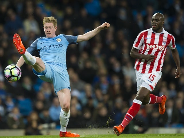 Result: Man City held to goalless draw by Stoke