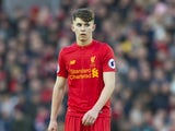 A terrified Ben Woodburn in action during the Premier League game between Liverpool and Burnley on March 12, 2017