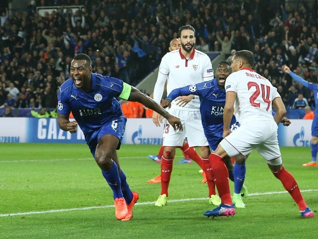 Result: Leicester reach CL quarters with dramatic win